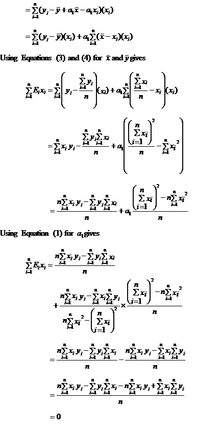 covariance error predictor variable zero Page 2
